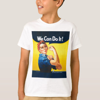 "Rosie the Riveter ""We Can Do It!"" T-Shirt"