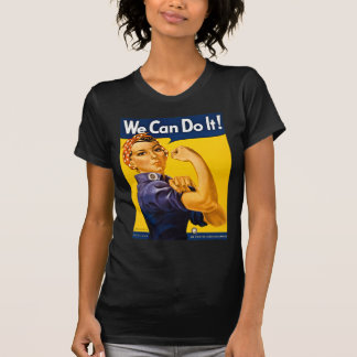 Rosie the Riveter We Can Do It Vintage Shirt