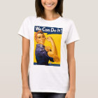Rosie the Riveter We Can Do It Vintage T-Shirt