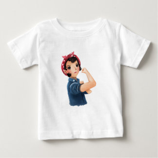 rosie the riveter women we can do it! WWII Tee Shirt