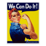Rosie The Rivetor -- Border Posters