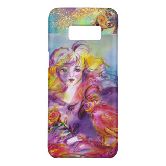 ROSINA /Young Girl with Rose and Parrot Case-Mate Samsung Galaxy S8 Case