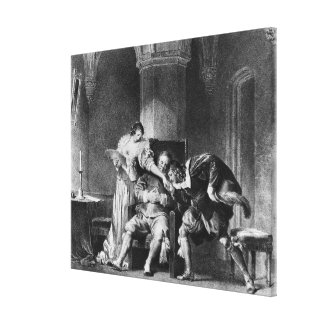 Rosine, Bartholo, Count Almaviva Canvas Print