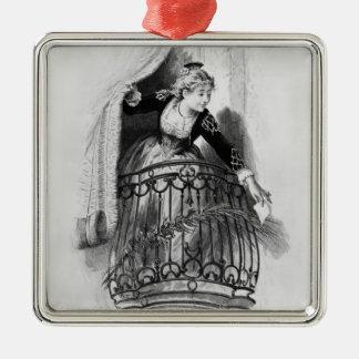 Rosine Metal Ornament