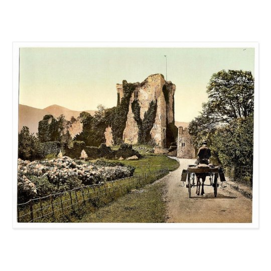 Ross Castle, II. Killarney. Co. Kerry, Ireland rar Postcard