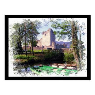 Ross Castle Ireland Postcard