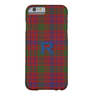 Ross Clan Tartan Plaid iPhone 6S Case