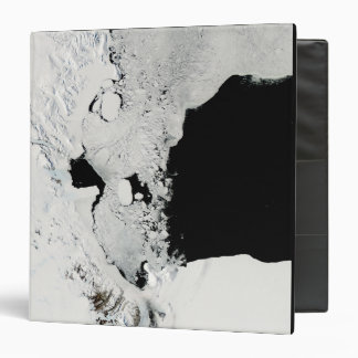 Ross Sea, Antarctica 3 Ring Binder