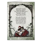 "Rossetti ""Love"" Victorian Art Card"