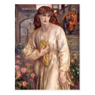 Rossetti Salutation of Beatrice CC0646 Postcard