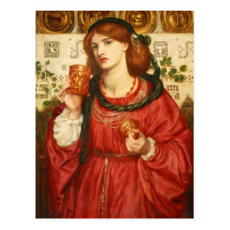 Rossetti The Loving Cup CC0648 Postcard