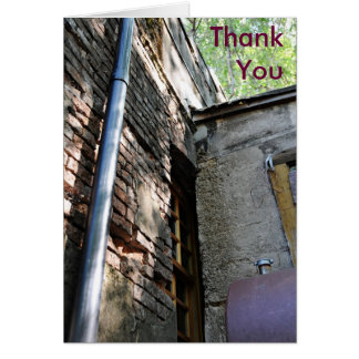 Rostel Historical Building, Thank You Card