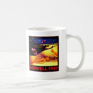 Roswell 1947 UFO Crash Coffee Mug