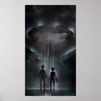 Roswell Alien Poster