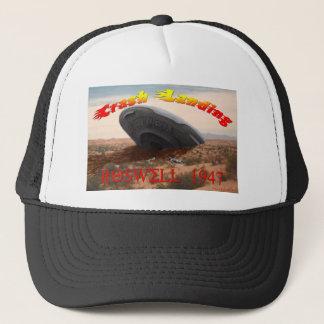 Roswell Crash Landing Trucker Hat