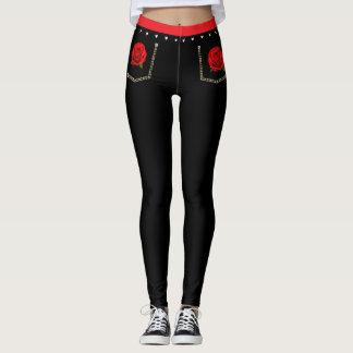 Rosy Black Skinny Jeans Leggings
