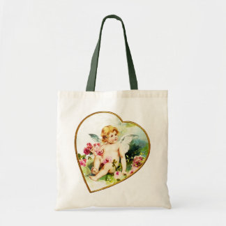 Rosy Cherub Tote Bag