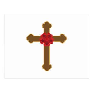 Rosy Cross Postcard