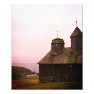 Rosy Fort Ross Russian Settlement Photo Print