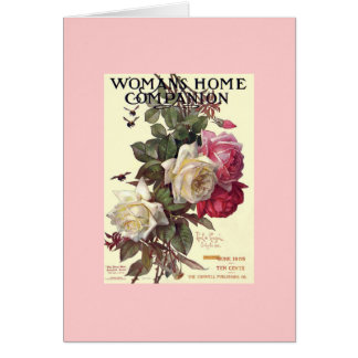 Rosy Greeting Card