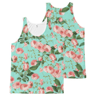 Rosy Life All-Over-Print Tank Top