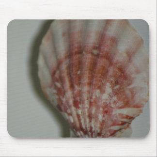 Rosy Seashell mousepad