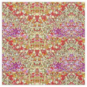 Tissu Couleur Chaude pour Loisirs Créatifs & Couture | Zazzle.ca