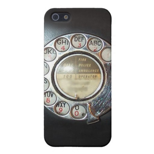 Rotary Dial Phone iPhone Case Covers For iPhone 5