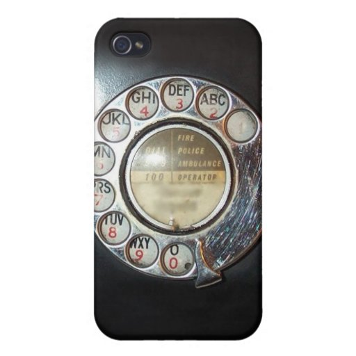 Rotary Dial Phone iPhone Case iPhone 4/4S Cover