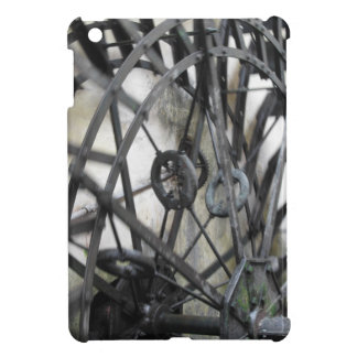 Rotary motion of the water wheel in a watermill iPad mini cases