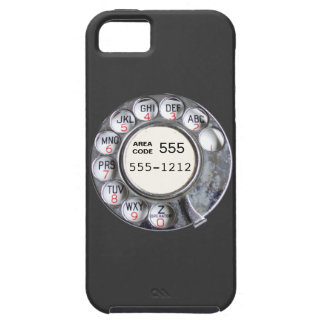 Rotary phone dial with phone number iPhone 5 cases