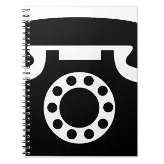 Rotary Phone Notebook