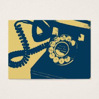 Rotary Telephone Pop Art Business Card