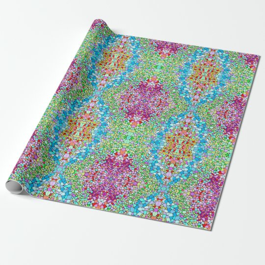 Rotas Multicolor Wrapping Wrapping Paper