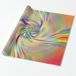 Rotating Rainbow Wrapping Paper