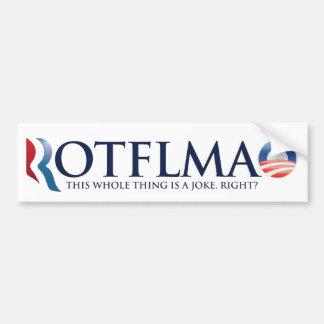 ROTFLMAO 2012 Bumper Sticker