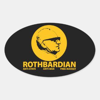 Rothbardian Sticker