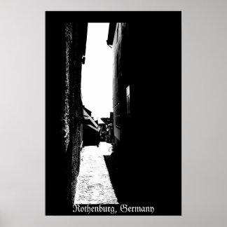 Rothenburg Alley Poster