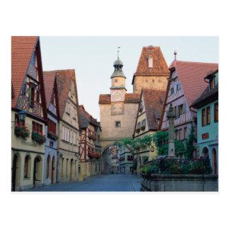 Rothenburg city, Germany Postcard