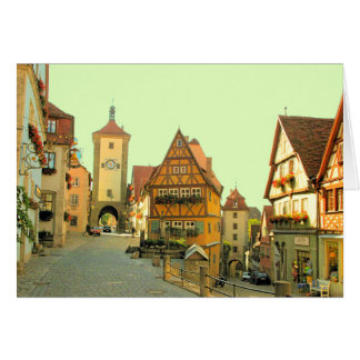 ROTHENBURG, GERMANY CARD