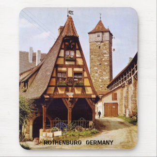 ROTHENBURG, GERMANY MOUSE PAD