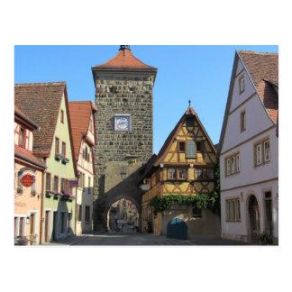 Rothenburg, Germany Postcard