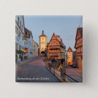 Rothenburg ob der Tauber 2 Inch Square Button