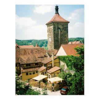 Rothenburg ob der Tauber, Germany Postcard