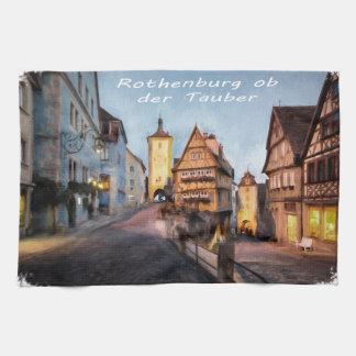 Rothenburg ob der Tauber Kitchen Towel
