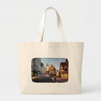 Rothenburg ob der Tauber Large Tote Bag