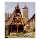 ROTHENBURG UNTOUCHED BY TIME, POSTER