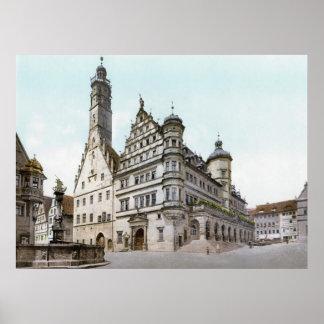 Rothenburg's Rathaus Poster