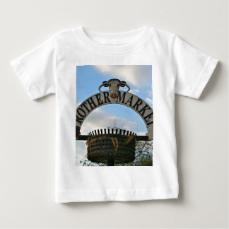 Rother Market sign, Stratford, England Baby T-Shirt