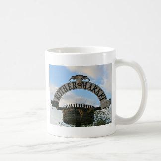 Rother Market sign, Stratford, England Coffee Mug